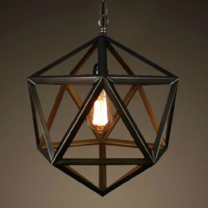 Kasper Polyhedron Abstract Lamp