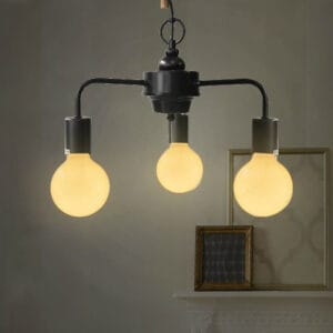 Tri-Minimalist Lamp -Black