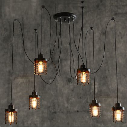 ... Web Hanging Lamps - front