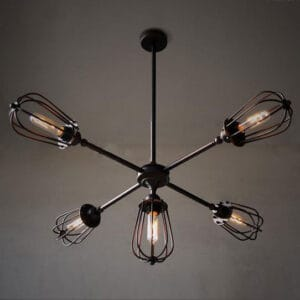 Yngve-Five-Leaflet-Uranium-Ceiling-Fan-Lamp--Lights-off