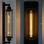 Bermuda Triangle Pencil Wall Light - measurement