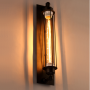 Bermuda Triangle Pencil Wall Light - on