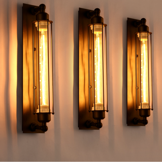 Bermuda Triangle Pencil Wall Light - trio 2