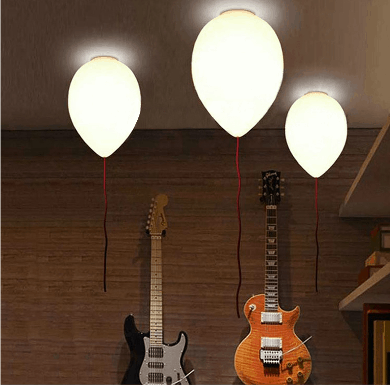 Creative Balloon Floating Lamps   Set Of 3 (2)