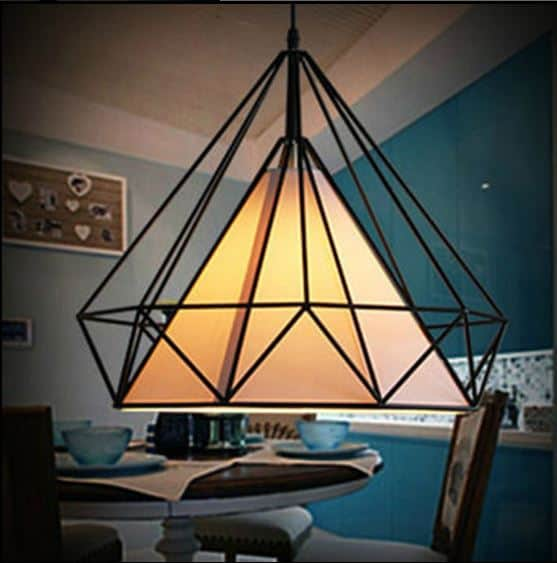 Klas pyramid cage hanging lamp pyramid cage hanging lamp front mozeypictures Image collections