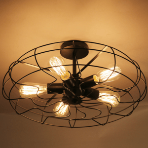 Retro Caged Fan Lamp - bottom (3)