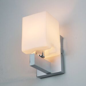 Cube Lattern Wall Lamp _Bottom View