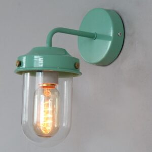 Gunda colored industrial street lamp