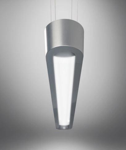 Johan Sleek Oval Overhead Lamp