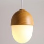 Acorn Hanging Lamp - long small top