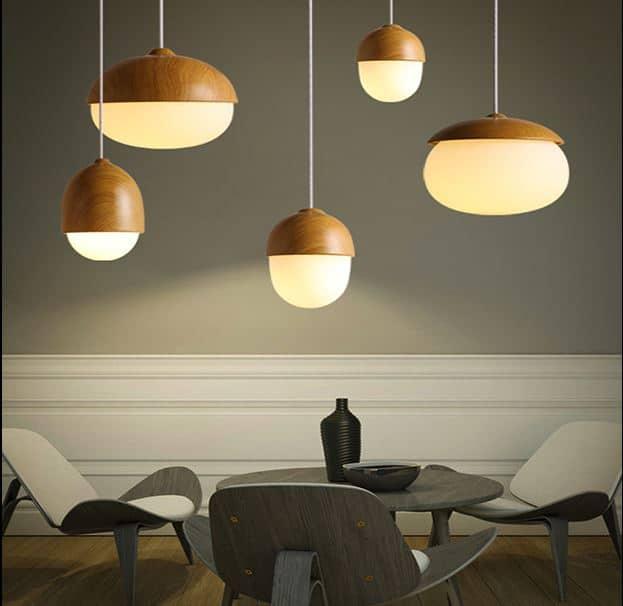 Pendant lights screed marten acorn hanging lamp aloadofball Image collections
