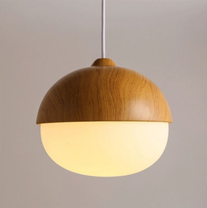 acorn hanging lamp round. Black Bedroom Furniture Sets. Home Design Ideas