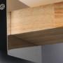 Candy Holder Wooden Hanging Lamp- details 5