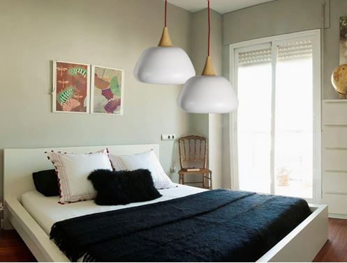 Ebbe Modern Abstract Hanging Lamp Bedroom 2