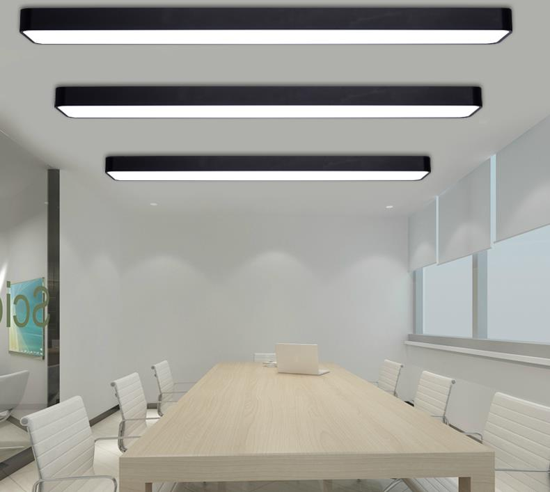 Attractive ... GÖRAN Smooth Edget Case Minimalist Ceiling Light   Black Office