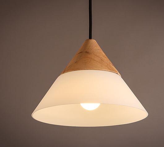hang lighting. Half Wood Hang Lamp-lited Lighting