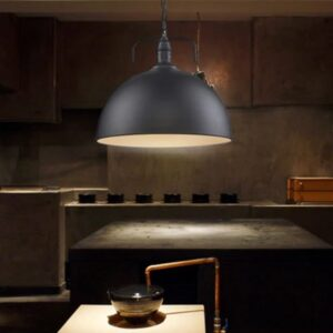 Industrial Hanging Lamp - bistro