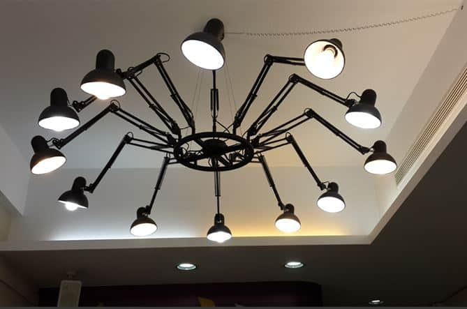 Evelina tarantula spider legs extendable lighting for What is a spider lamp