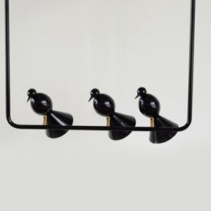 Perched Bird Lamp- set of 3