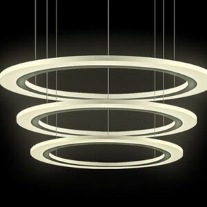 Triple Halo Hanging Lights-set of 3 (1)