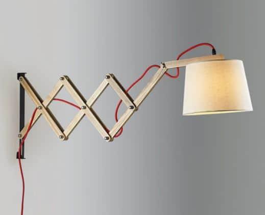 HAKAN Scissors-Hand Extendable Lamp