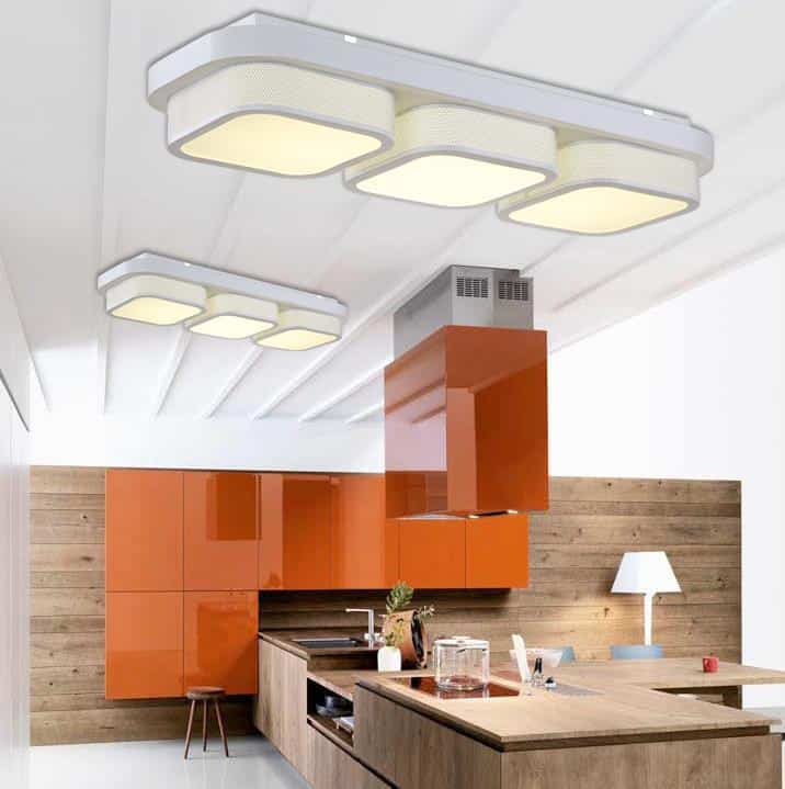 Kitchen Ceiling Lights Singapore: CINÁED Square Pillow Ceiling Lamp