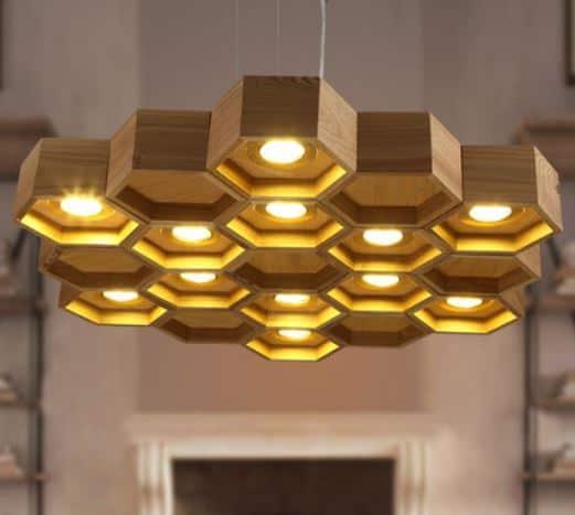 ... Honeycomb Hanging Lamp - side ... - VILHELM Honeycomb Hanging Lamp