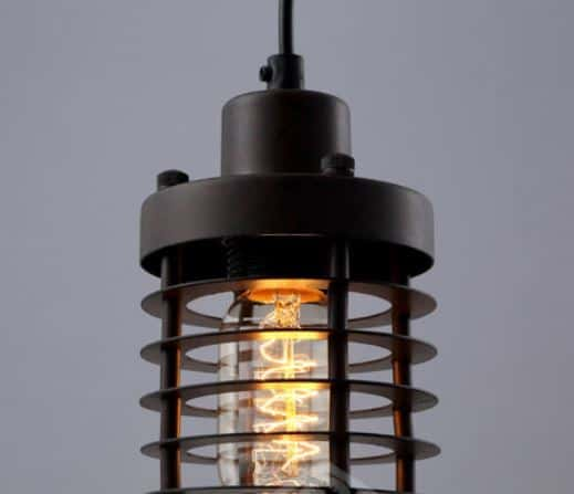 Ainaby industrial disk cage lamp industrial disk cage lamp details 4 mozeypictures Image collections