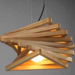 Triangulate DNA Hanging Lamp- bottom