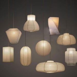 Yuturo-Origami-Pendant-Lamps