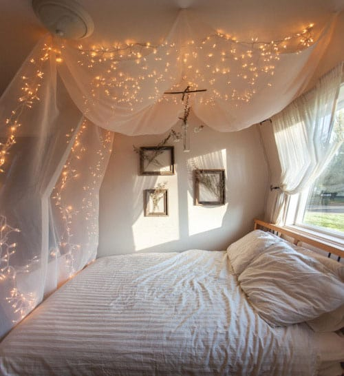 10 Creative Ways To Use String Lights