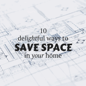 Saving space