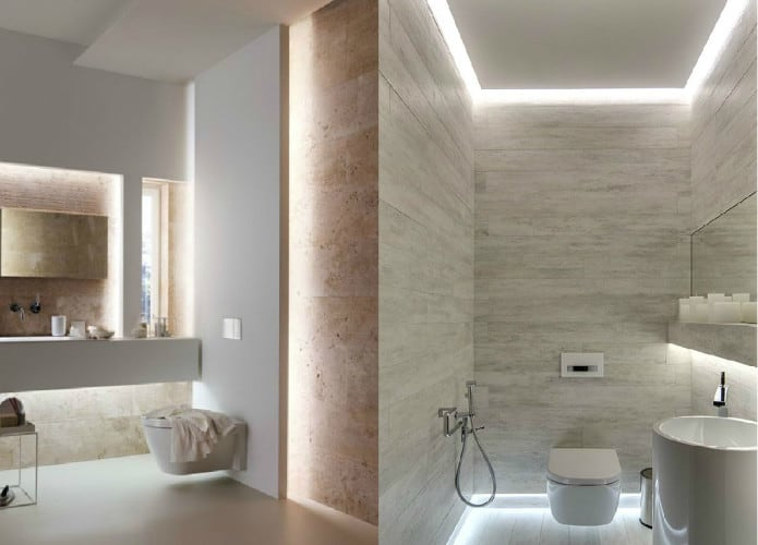 8 Ways To Brighten Up An Enclosed Bathroom Screed