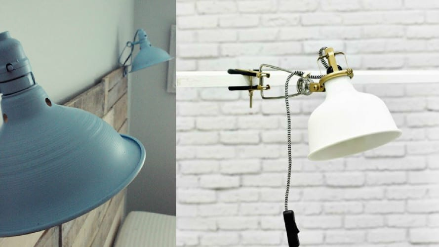 night light clamp lamp collage