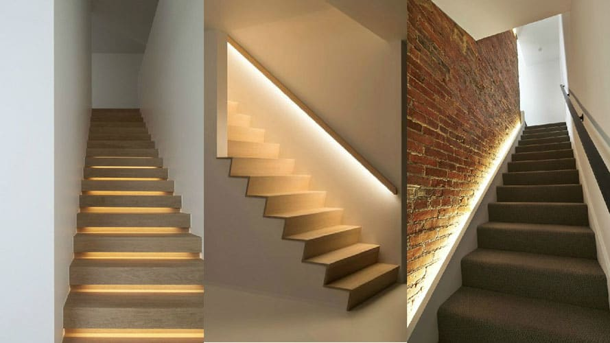 5 must know ways to brighten up your stairs screed stairs cove lighting collage mozeypictures Image collections
