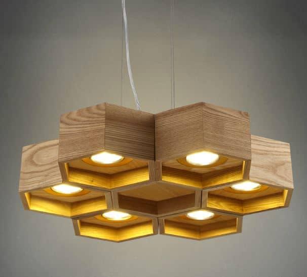 Vilhelm Honeycomb Hanging Lamp