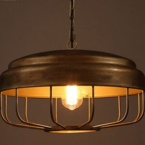 Birdcage Hanging Lamp- front 2