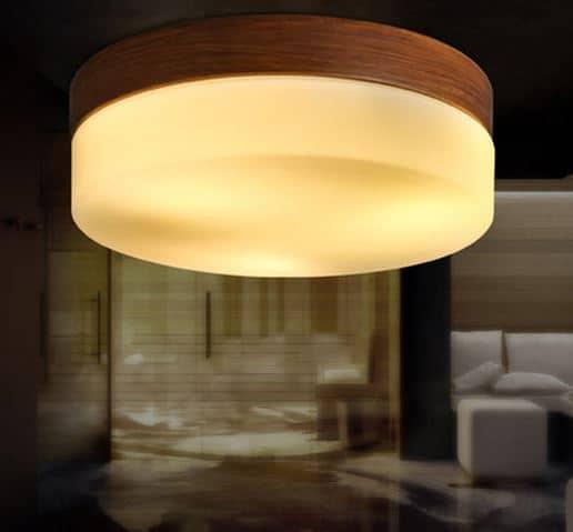 Crème Brûlée Ceiling Lamp Background
