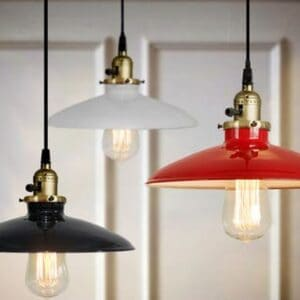 Elegant Industrial Lamp- color variation