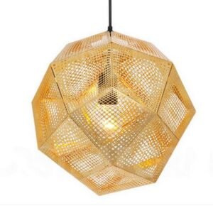 Futuristic Hanging Lamp-front