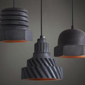 Industrial Mechanics Hanging Lamp-shape variation