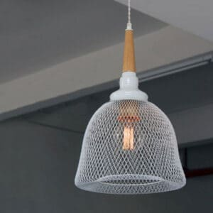 ULUF Candied Apple Mesh lamp white