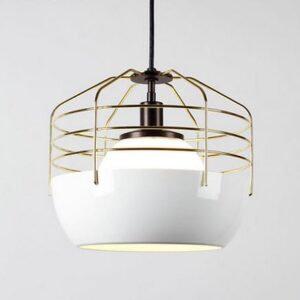 Visionary Caged Lamp- front