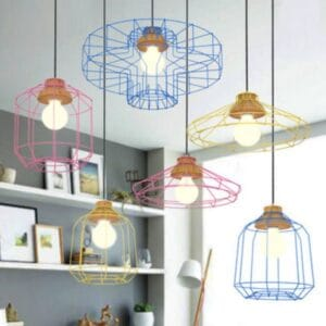 HILDUR-Bare-Essence-Web-Hanging-Lamp-Colorful-Lamps