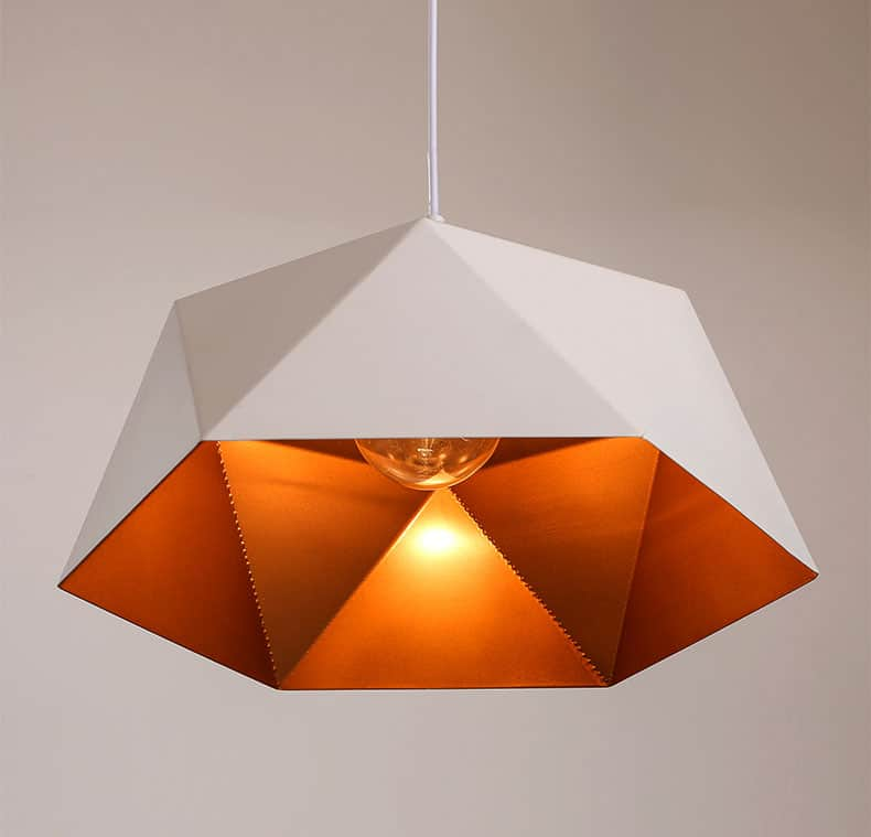 Polymona Geometric Pendant Lamp