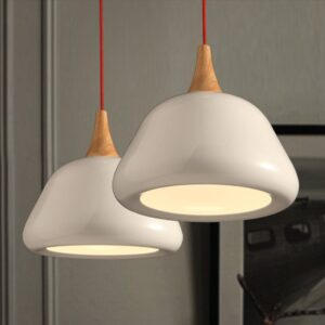 stylish-hanging-mushroom-lamp-in-house