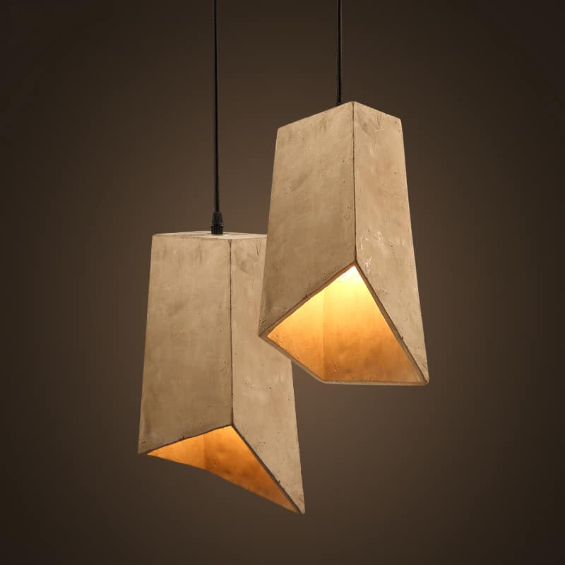 ERNST Simple Cement Pendant Lamp
