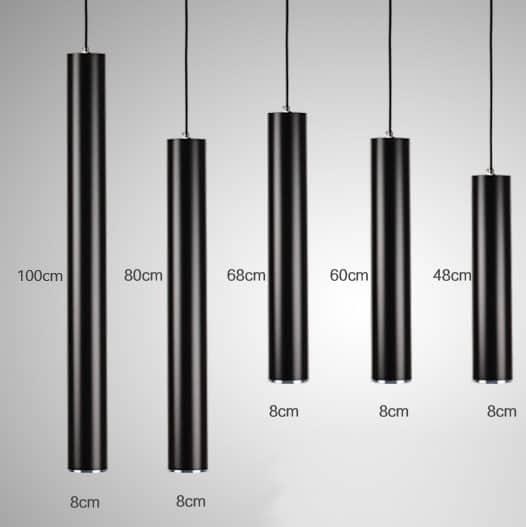 Bambuuna Cylindrical Pendant Lamp