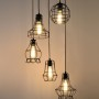 Klemon Wire Cage Pendant Lights 3