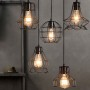 Klemon Wire Cage Pendant Lights models